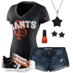 San Francisco Giants Summer All Star Outfit