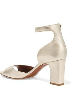 Tabitha Simmons - Jerry Metallic Leather Sandals - Gold - IT40.5