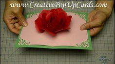 http://www.CreativePopUpCards.com/rose Please visit my website for tutorials and templates for my pop up cards. This video shows a tutorial on making a rose ...