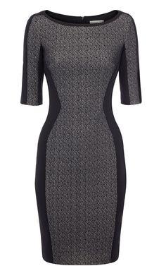 f1f8cff0dd Karen Millen Texture Jersey Collection in Black | Lyst Herve Leger Dress,  Soft Summer,