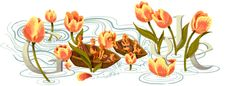 Google Doodle: Queen's Day the Netherlands 2012