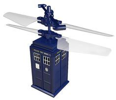 "The amazing flying-tardis! Every little boy needs one to land in the lawn of a little girl so he can say ""your doctor is here""."