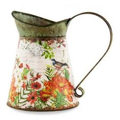 Michel Design Works - Wildflower Meadow Tin Watering Can