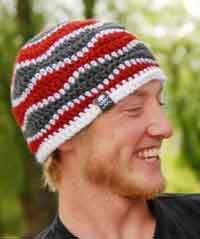 Over 100 Free Crochet Patterns For Men... this guy looks like Shaggy from Scooby Doo