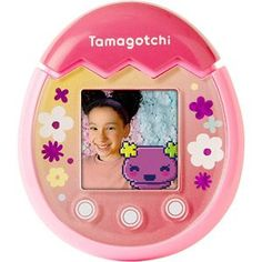 Tamagotchi Pix Pac Man, Hot Pink Nails, White Nails, Brand Character, How Its Going, Virtual Pet, Top Toys, Egg Shape, Pink Brand