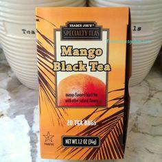 Trader Joe's Mango Black Tea  20 Tea Bags  $1.99 トレーダージョーズ マンゴーブラックティ