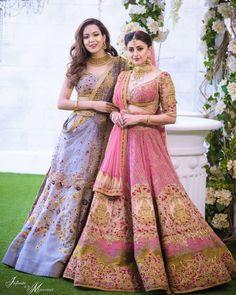 Indian Wedding Outfits, Bridal Outfits, Indian Outfits, Bridal Dresses, Indian Attire, Lehenga Jewellery, Pink Lehenga, Net Lehenga, Hand Work Blouse Design