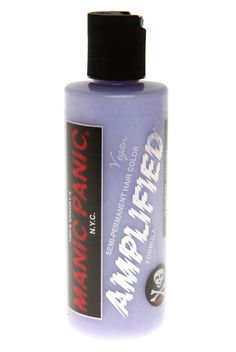 This cream toner is a violet toner that neutralizes unwanted yellow/orange pigments left behind after lightening the hair. The end result will be white hair. Use it to add dimension to other colors, too! 4 fluid ounces.