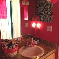 My 3 yr old little girls bath room!