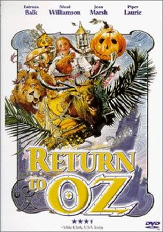 Directed by Walter Murch.  With Fairuza Balk, Nicol Williamson, Jean Marsh, Piper Laurie. Dorothy, saved from a psychiatric experiment by a mysterious girl, is somehow called back to Oz when a vain witch and the Nome King destroy everything that makes the magical land beautiful.