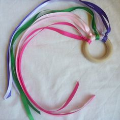 Partycraft Secrets: Parent Submission: Ballet Party Craft: Dancing Ribbons