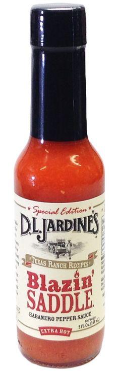 D.L. Jardines Blazin Saddle Habanero XXX Pepper Sauce, 5 ounce