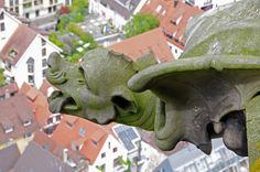 Wasserspeier am Ulmer Münster