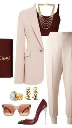 Lila Outfits, Classy Outfits, Stylish Outfits, Work Fashion, Fashion Looks, Fashion Outfits, Womens Fashion, Fashion Trends, Workwear Fashion
