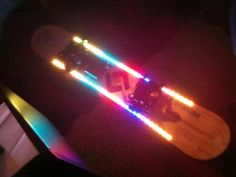 LED Color Changing Snowboard by Nason, Max and Mike, via Kickstarter.