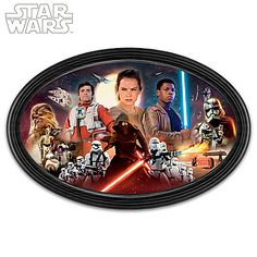 STAR WARS: The Force Awakens Character Montage Wall Decor