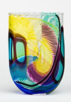 Vases – Home Decor : Jeffrey Pa'n - Decor Object Art Of Glass, Cut Glass, Glass Ceramic, Mosaic Glass, Glass Collection, Decorative Objects, Colored Glass, Les Oeuvres, Vases