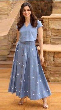 Kurta Designs, Blouse Designs, Kurti Designs Party Wear, Indian Dresses, Indian Outfits, Dress Skirt, Dress Up, Dress Casual, Silk Skirt