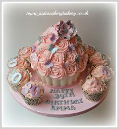 giant birthday cupcake - Bing Images