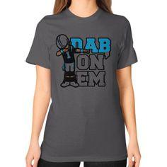 Dab On Em Unisex T-Shirt (on woman)