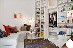 Art & Mañas » Pequeños apartamentos: 50 metros cuadrados
