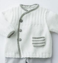Ravelry: Modèle tricot n°9 - brassière esprit kimono bébé pattern by Phildar Design Team