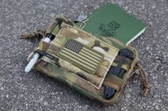 Blue Force Gear® Admin Pouch - nice little carry pouch for day-to-day gear Molle Gear, Molle Backpack, Edc Tactical, Tactical Equipment, Tactical Pouches, Packers, Bug Out Gear, Battle Belt, Tac Gear