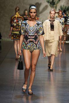 Dolce & Gabbana spring/summer 2013 fashion show
