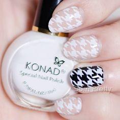 $8.44 11ml White Konad Nail Art Stamping Polish Professional Stamping Polish - BornPrettyStore.com