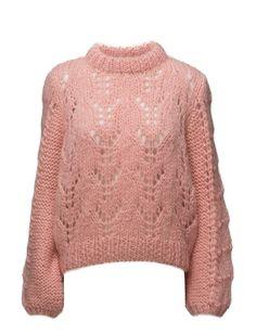 Ganni Faucher Pullover Pink Sweater 919e3bc56a1d