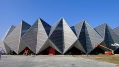 Crystal Hall, Baku. Currently hosting the EuroVision Song Contest | Architects von Gerkan Marg and Partners