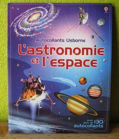 Autocollant Usborne - L'astronomie et l'espace Emily Bone Hazel Maskell Paul Weston Adam Larkum Editions Usborne