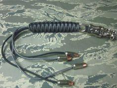 Us made 550 paracord get back whip 18 inch by DEATHWORKSSTUDIOS