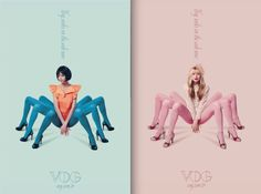 The Spider-Women of Turkey.  2010 ads for Vog stockings by TBWA Istanbul.