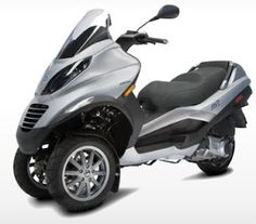 Piaggio MP3 Scooter Overview and Specs