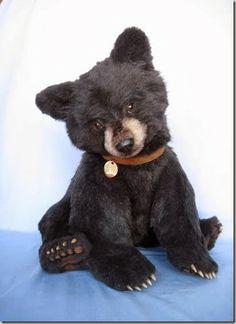 Realistic style teddy bear, by the boundlessly talented Joanne Livingston of Desertmountainbear