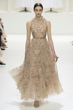 See the entire Christian Dior haute couture autumn/winter collection. Dior Haute Couture, Christian Dior Couture, Couture Week, Couture Fashion, Runway Fashion, Fashion Show, Teen Fashion, Fashion Weeks, Beautiful Gowns