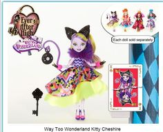 Kitty Cheshire Way Too Wonderland
