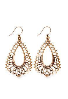 Lucky Brand Jewelry Oblong Drop Earring
