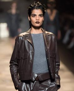 Our Favorite Beauty Looks from Milan Fashion Week - Trussardi from #InStyle
