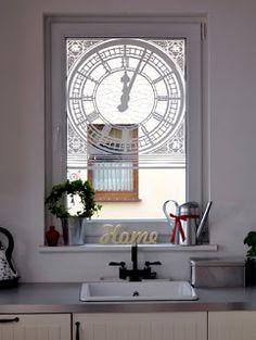 Naklejka  na okno BIG BEN http://www.nietylkona.pl/naklejka-big-ben-632.html