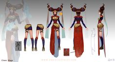 ArtStation - Mage Orthographic, Danielle Oyales
