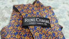 Rene Chagal Men Tie Equestrian Theme Horse Bit Blue Orange Yellow Handmade Suit #ties (ebay link) Orange Yellow, Red And Blue, Usa Gold, Burgundy Top, Horse Bits, Mens Silk Ties, Classic Man, Equestrian, Suits