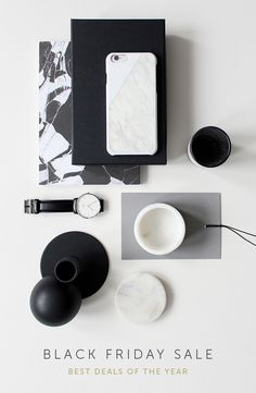 The world's first real marble case for iPhone. Made with the finest white or black marble. Kick-start your holiday shopping with Native Union's #BlackFriday Sale. Click for 50% off their bestsellers!