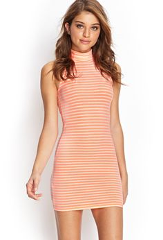 Forever 21 is the authority on fashion & the go-to retailer for the latest trends, styles & the hottest deals. Shop dresses, tops, tees, leggings & more! Vegas Dresses, Fall Dresses, Women's Dresses, Casual Dresses, Striped Turtleneck, Turtleneck Dress, Kinds Of Clothes, Teen Fashion, Passion For Fashion