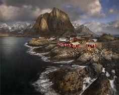 Fjords of Reine, Norway