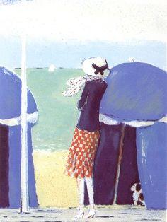 La jupe à carreaux – 1977 – 36,5x24cm