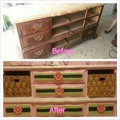 Nursery refurbished furniture