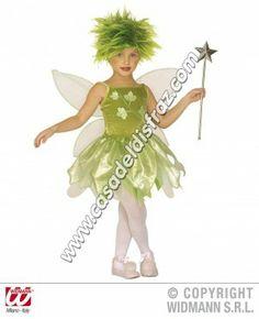 Disfraz de Hada del Bosque para niñas. #Disfraces #Carnaval www.casadeldisfraz.com Princesas Disney, Tinkerbell, Disney Characters, Fictional Characters, Disney Princess, Woodland Fairy Costume, Folktale, Forests, Fairies