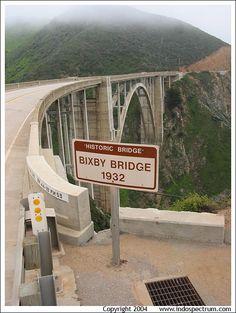 Historic Bixby Bridge, Big Sur, California